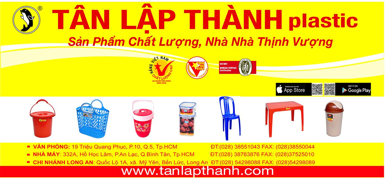 NHỰA TÂN LẬP THÀNH - Niềm tự hào nhựa Việt